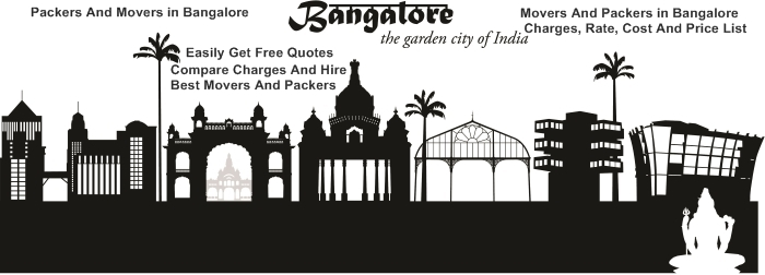 Packers And Movers in Bangalore With Rates, Charges, Prices And Costs