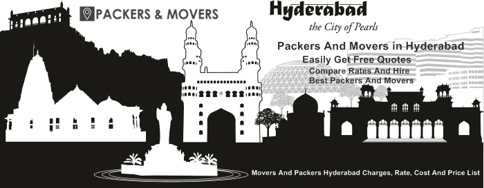 Packers And Movers in Hyderabad With Rates, Charges, Prices And Costs